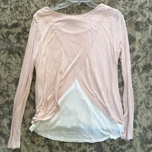 Cynthia Rowley Light Pink and White Blouse
